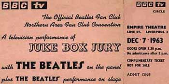 Beatles Interview: Juke Box Jury 12/7/1963 - Beatles