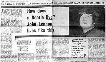 The Beatles Polska: Lennon: Jesteśmy popularniejsi od Jezusa