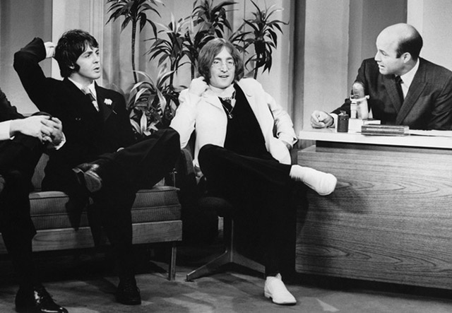 Image Result For Beatles The Tonight Show May 1968 14th John Lennon And Paul McCartney