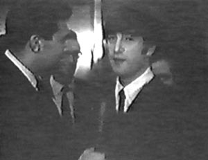 On The Evening Of February 11th 1964 Following Their Concert At Washington Colisem Beatles Made A Brief Appearance British Embassy Reception In