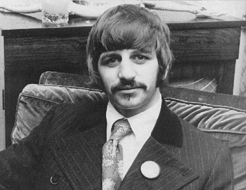 KENNY Well By George In The Studio We Have Old Ringo Starr Of Beatles Fame What You Been Doing Since I Last Saw America A Year
